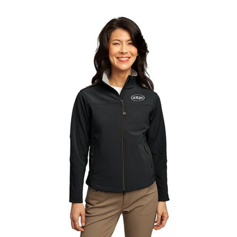 Ladies Glacier® Soft Shell Jacket in Black