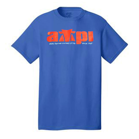 T-Shirt in Royal - Imprinted