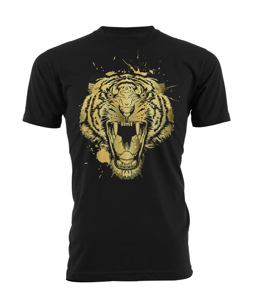 Gold Tiger Black