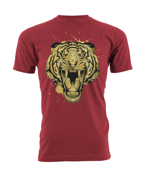 Gold Tiger Red