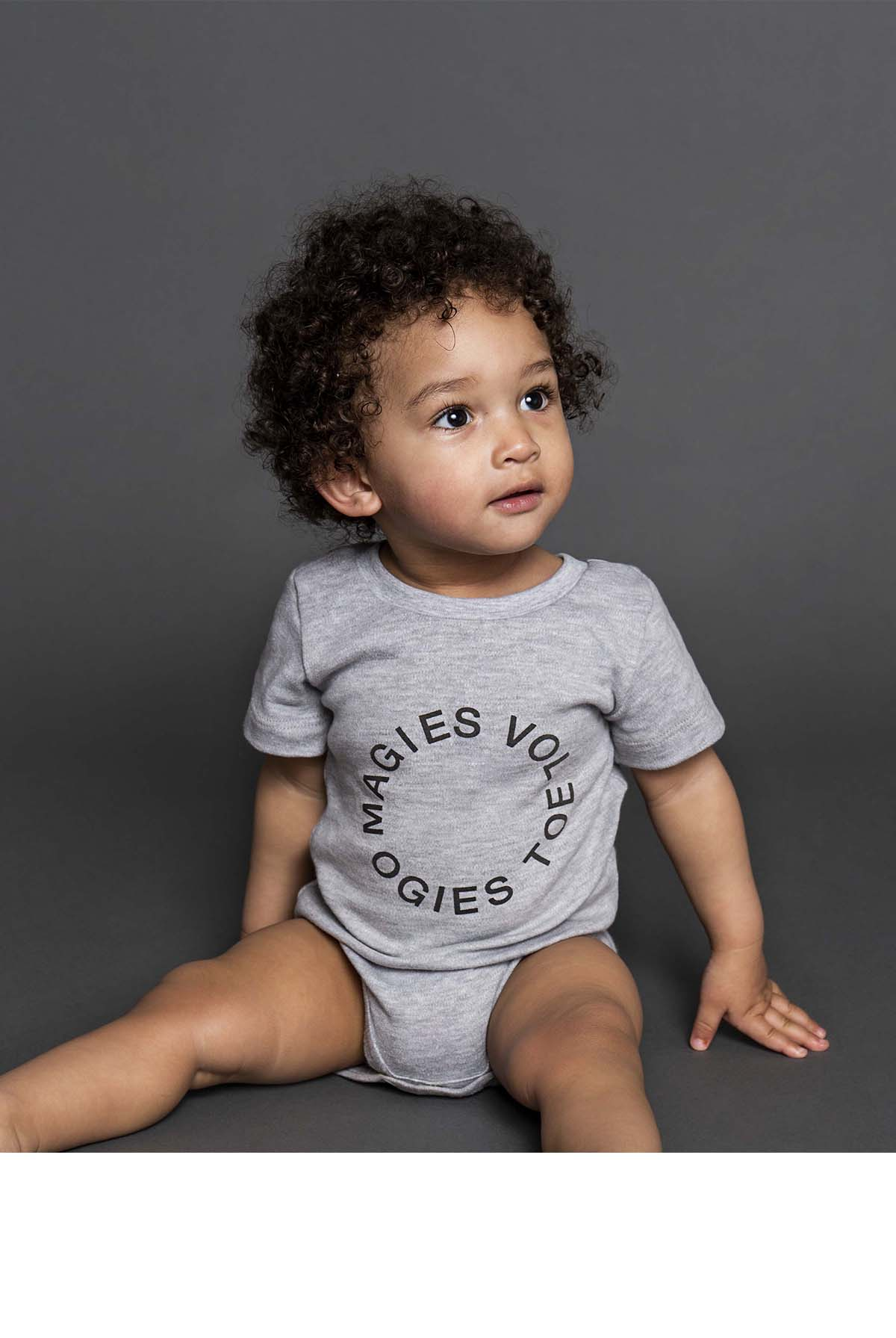 MAGIES VOL, OGIES TOE SHORT SLEEVE BABYGRO