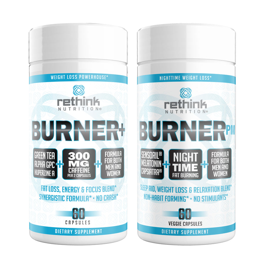 Rethink Fat Burning, Energy, Sleep, Relaxation, & Focus Stack - Rethink Nutrition