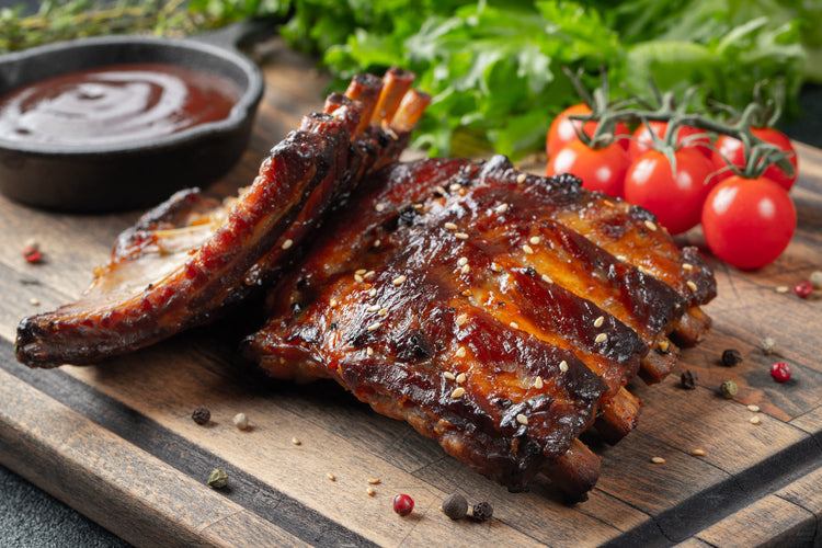 Double Smoked BBQ Ribs
