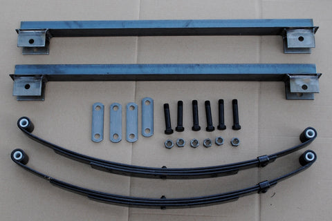 DIY Trailer Frame Spring Kit Harbor Freight Smooth Ride Kit parts