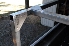 No Weld Trailer Racks for camping trailers Pickup Truck Beds Corners