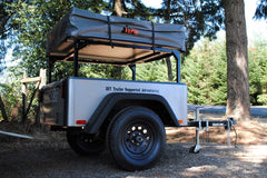 No Weld Trailer Racks for camping trailers Pickup Truck Beds Installed