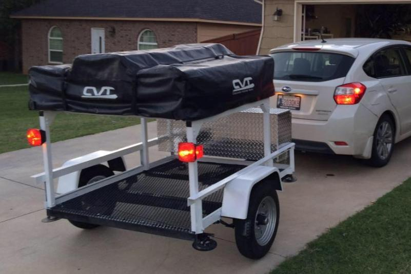 C&ing Trailer Racks Roof Top Tent Racks & Trailer Rack Comparisons u2013 Compact Camping Concepts