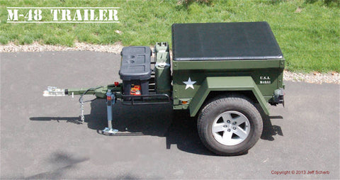 M416 Trailer Build at home with a Dinoot M-Series Tub Kit