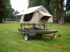 Trailer Racks Kit No Weld for Trailers and Pickup Truck Beds to mount a roof top tent