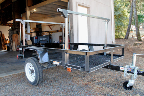 Trailer Rack No weld Build at Home Racks