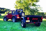 Jeep Trailer Tub Kit A Build at Home Jeep Trailer Customer Rig