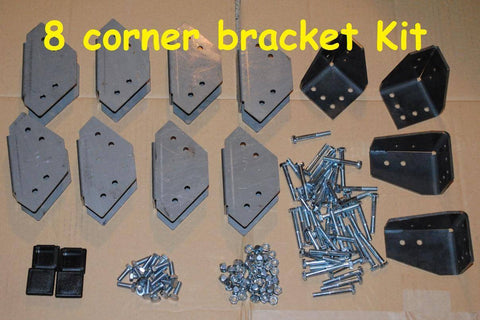 No Weld Trailer Rack Bracket Kits - Compact Camping Trailers