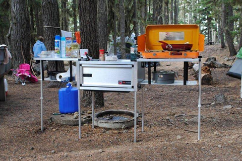 Portable Camp Kitchen - Compact Camping Trailers