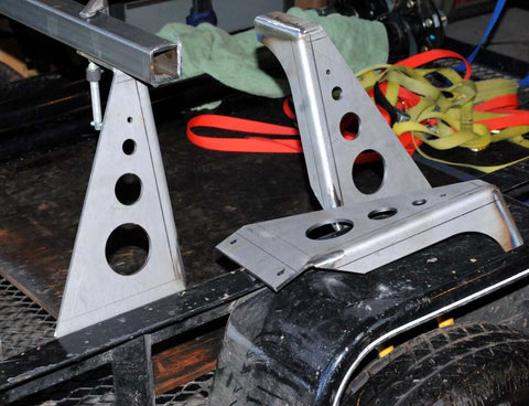 No Weld Trailer Rack Heavy-Duty Towers