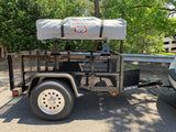 No Weld Trailer Rack Towers - Compact Camping Trailers