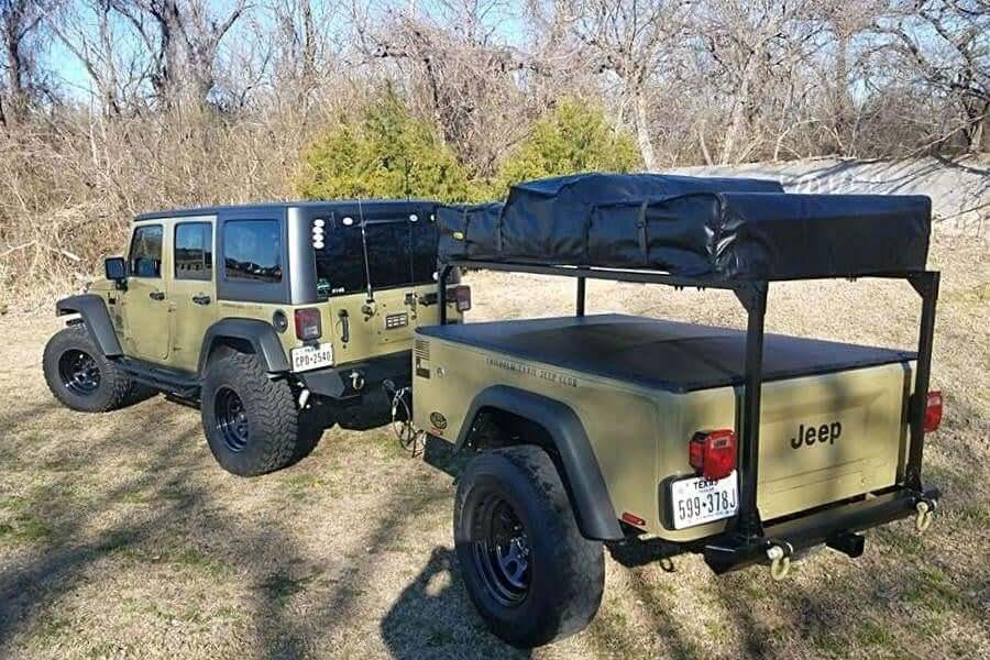 ... Jeep Trailer J Series Tub Kit a build at home Jeep trailer Kit with roof top ... & Dinoot J Series Tub Kit u2013 Compact Camping Concepts
