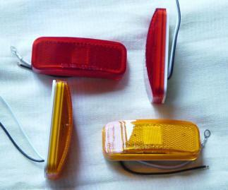 Trailer Lights LED Side Marker Lights - Compact Camping Trailers