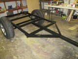 Jeep Trailer Dinoot Welded Frame Drawings - Compact Camping Trailers