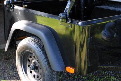 Jeep Trailer Large Flares for Wheels - Compact Camping Trailers