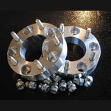 Aluminum Hub Adapters / Spacers - Compact Camping Trailer Frame Parts