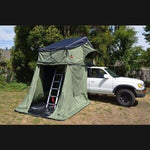 Camping Tent Roof Top Tent Autana Ruggedized RTT with Annex - Compact Camping Trailers