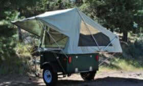 M.O.A.B. Folding Tent Unit - DIY Compact Camping Trailers