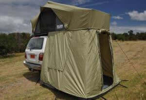 Roof Top Tent FrontRunner Changing Room - Compact Camping Trailers