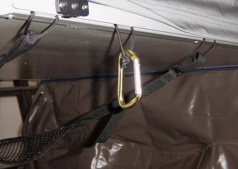 Camping Tent Track Hangers - Compact Camping Trailers