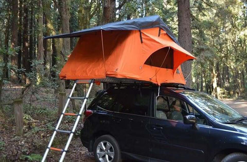 Kukenam Ruggedized Sky Roof Top Tent - DIY Compact Camping Trailers