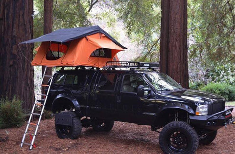 Kukenam XL Ruggedized Roof Top Tent - Compact Camping Trailers