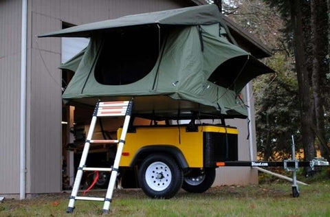 Roof Top Tent Ladder Rung Retainer - DIY Compact Camping Trailers