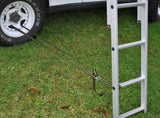 Roof Top Tent Ladder Straps - DIY Compact Camping Trailers