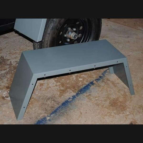 M416 Trailer Oversize Fenders Exclusively offered by Compact Camping Trailers