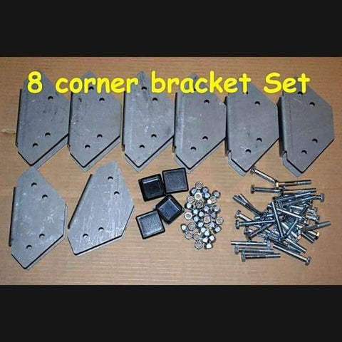 No Weld Trailer Rack Corner Bracket Sets - No Weld Trailer Racks