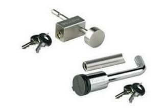 Coupler / Receiver Lockset - Compact Camping Trailers