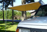 Camping Roll Out Awning on Vehicle
