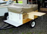 Trailer Side Table Kit Combo - Compact Camping Trailers