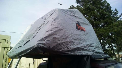 Roof Top Tent Winter Hood - DIY Compact Camping Trailers