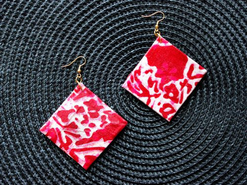 Diamond Ankara Earrings