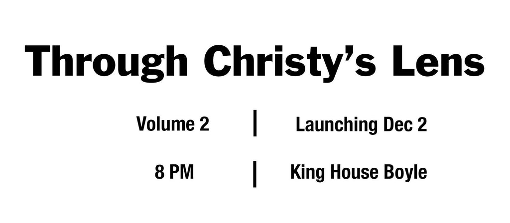 When is Through Christy's Lens Vol 2 Launching?