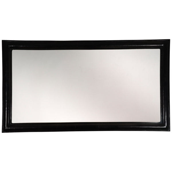 alu black mirror rectangle big