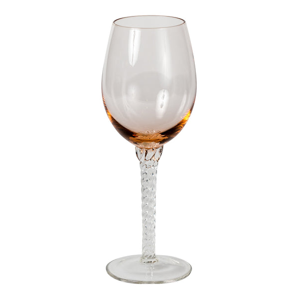 Wijn glas Glass Shine rond wit