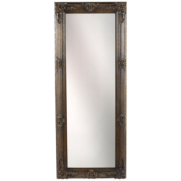 baroque gold mirror wood frame rectangle L
