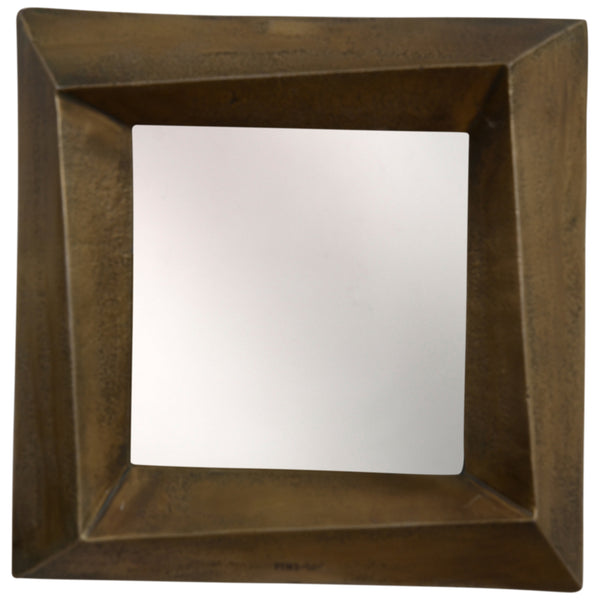 alu brass mirror rectangle L