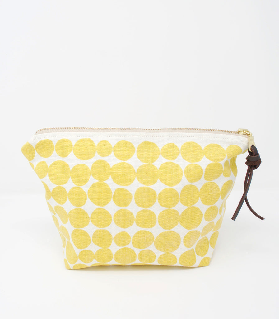 Yellow Dots Pouch