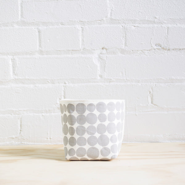 Dots Basket - Grey