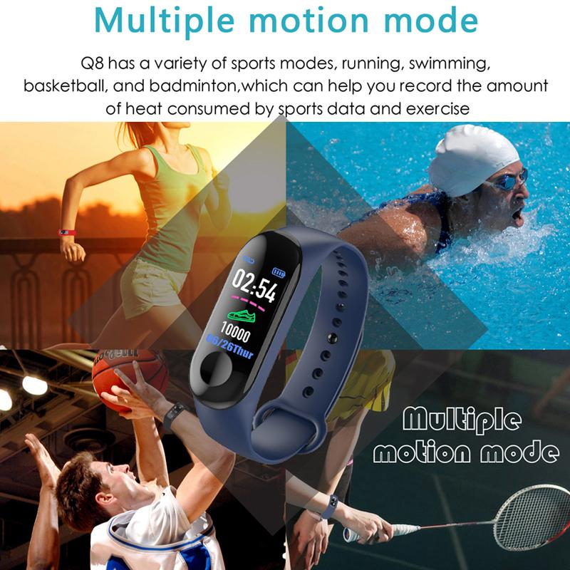 Buy 1 Get 1 FREE: Smart Band (With Heart Rate Monitor) Plus Creative Case For Vivo V11 Pro