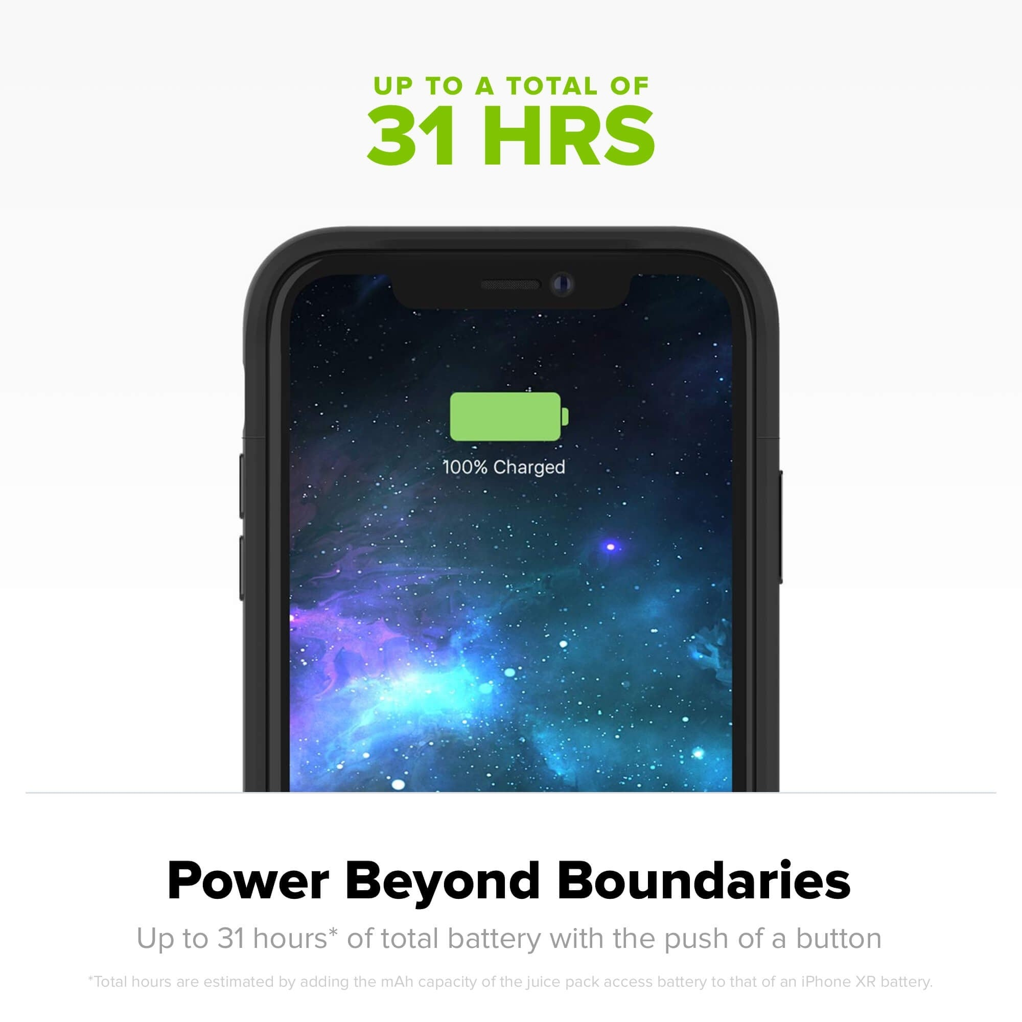 iPhone XR Battery Case Charger Case- 3200 mAh
