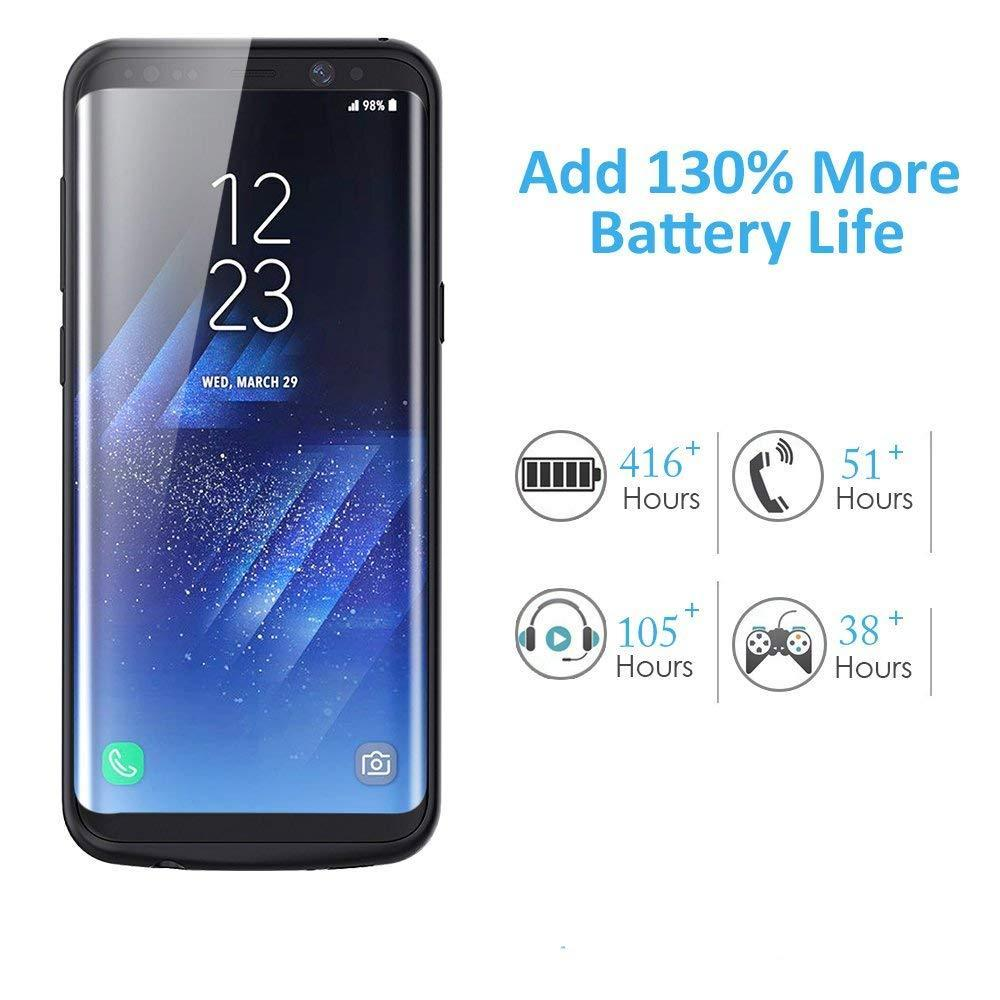 Galaxy S8 Battery Case Charger Case- 5500mAh