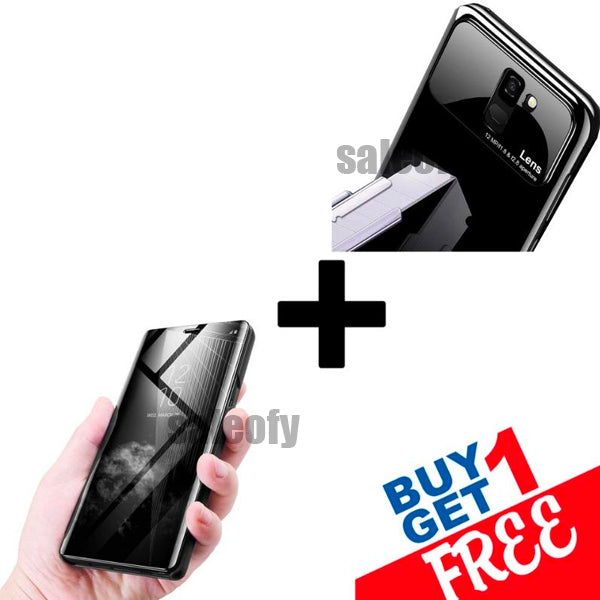 Buy 1 Get 1 FREE: One Plus 6T Mirror Shine + Lens Case